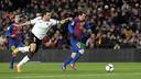 Leo Messi in the first leg of the semi-final in 2011/12 against Valencia / VICTOR SALGADO - FCB
