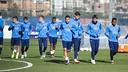 Entrenamiento del Barça B (05/02/16) / VICTOR SALGADO - FCB