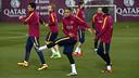 Neymar, en un entrenamiento / MIGUEL RUIZ - FCB