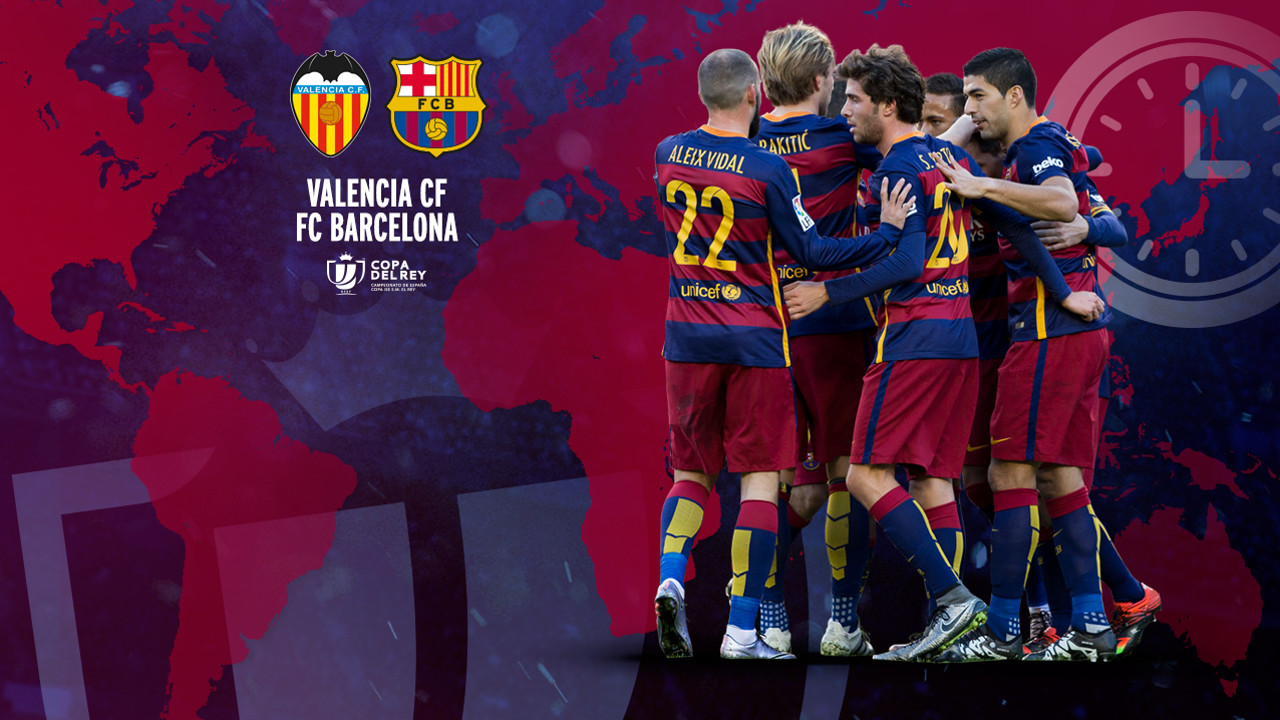 The game at Mestalla will be available for viewing in every continent / FCB