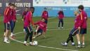Entrenament / MIGUEL RUIZ-FCB