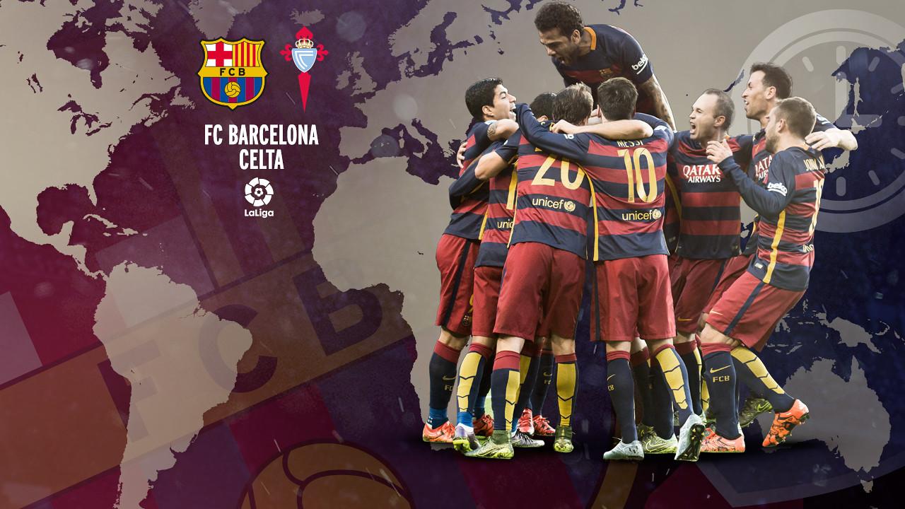 Horaris internacionals del FC Barcelona - Celta / FCB