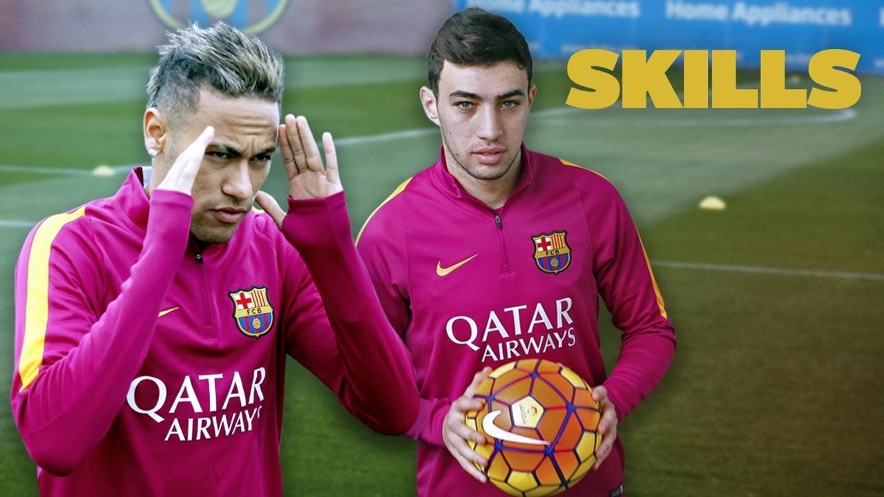 Keterampilan Munir dan Neymar /FCB