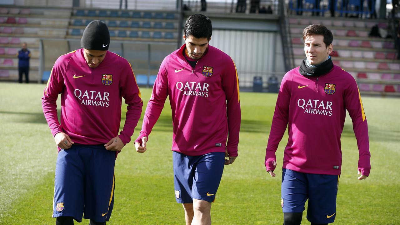 Neymar Jr, Suárez i Messi tornen a la convocatòria / MIGUEL RUIZ - FCB