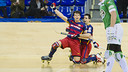 Álvarez grabbed three of the team's six goals / FCB