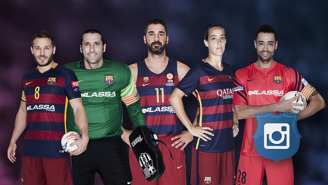 FC Barcelona has just launched five new instagram accounts. / FCB