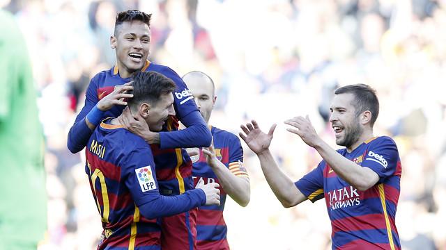 Messi y Neymar Jr han liderado la victoria del Barça / MIGUEL RUIZ - FCB