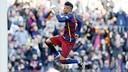 Neymar, après un but / Miguel Ruiz FCB