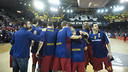 The Palau pushed the team to a massively important victory / VÍCTOR SALGADO - FCB