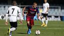 Palencia was a starter against Llosetense / VICTOR SALGADO - FCB