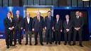 Tots els presidents del FC Barcelona, junts per homenatjar Cruyff / GERMÁN PARGA - FCB