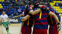 The Palau enjoyed six goals from Barcelona / VICTOR SALGADO - FCB