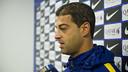 Gerard López quiere seguir creyendo en las opciones de ascenso / VICTOR SALGADO-FCB
