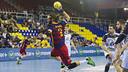 Noddesbo topscorer in the game / VÍCTOR SALGADO-FCB