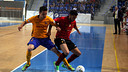 Dyego and Bruno Taffy fight for the ball / PALMA FUTSAL