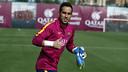 Claudio Bravo in training / MIGUEL RUIZ - FCB