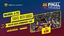 Copa del Rey Final's journey to Madrid