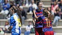 El Barça Femení ha superat clarament l'Espanyol / MIGUEL RUIZ - FCB