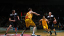 Ante Tomic slides over to impede a drive to the basket. / ACB