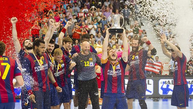 Els blaugranes són els vigents campions de Copa / FOTO:ARXIU-FCB