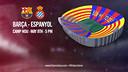 Barça v Espanyol - Sunday 8 May at 5pm CET