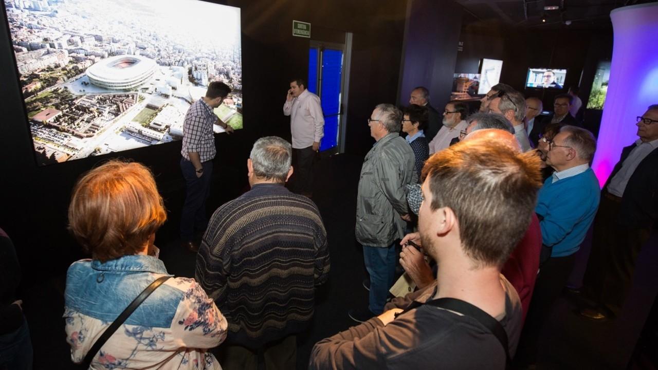 Members can enjoy guided tours on Thursdays / GERMAN PARGA - FCB