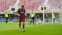 Dani Romera celebra el gol marcado contra el Eldense / VICTOR SALGADO - FCB