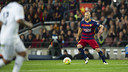 Javier Mascherano during a league game at Camp Nou / VÍCTOR SALGADO - FCB