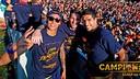La meilleure attaque de l'histoire a célébré le titre en Liga / Photo de Miguel Ruiz