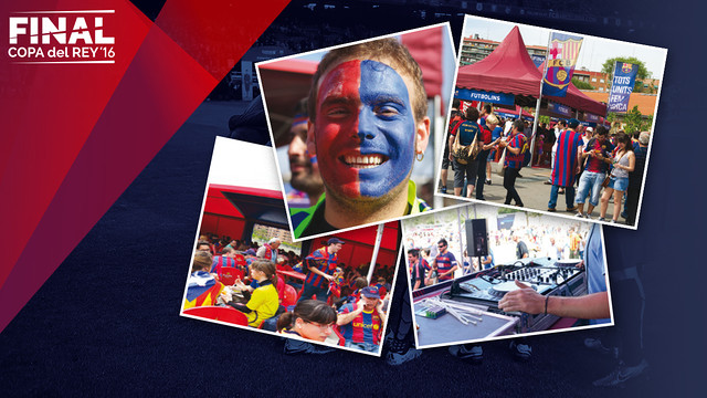 The Barça Zone will open on final day at 10.00am CET / FCB