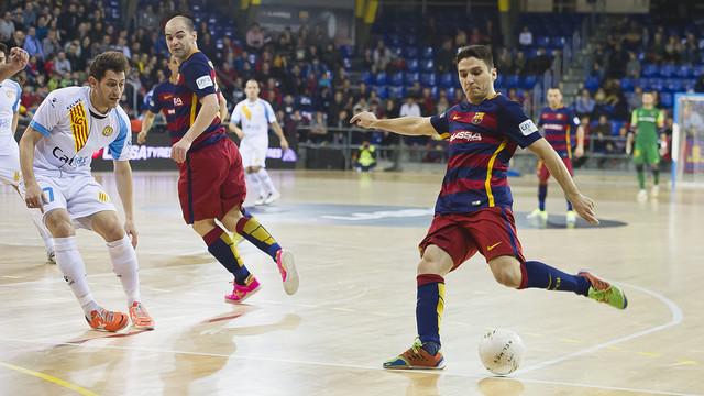 El Barça Lassa vol tancar la eliminatòria de quarts a la primera