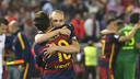 Messi i Iniesta, els jugadors amb més títols de la història del Barça / VÍCTOR SALGADO - FCB