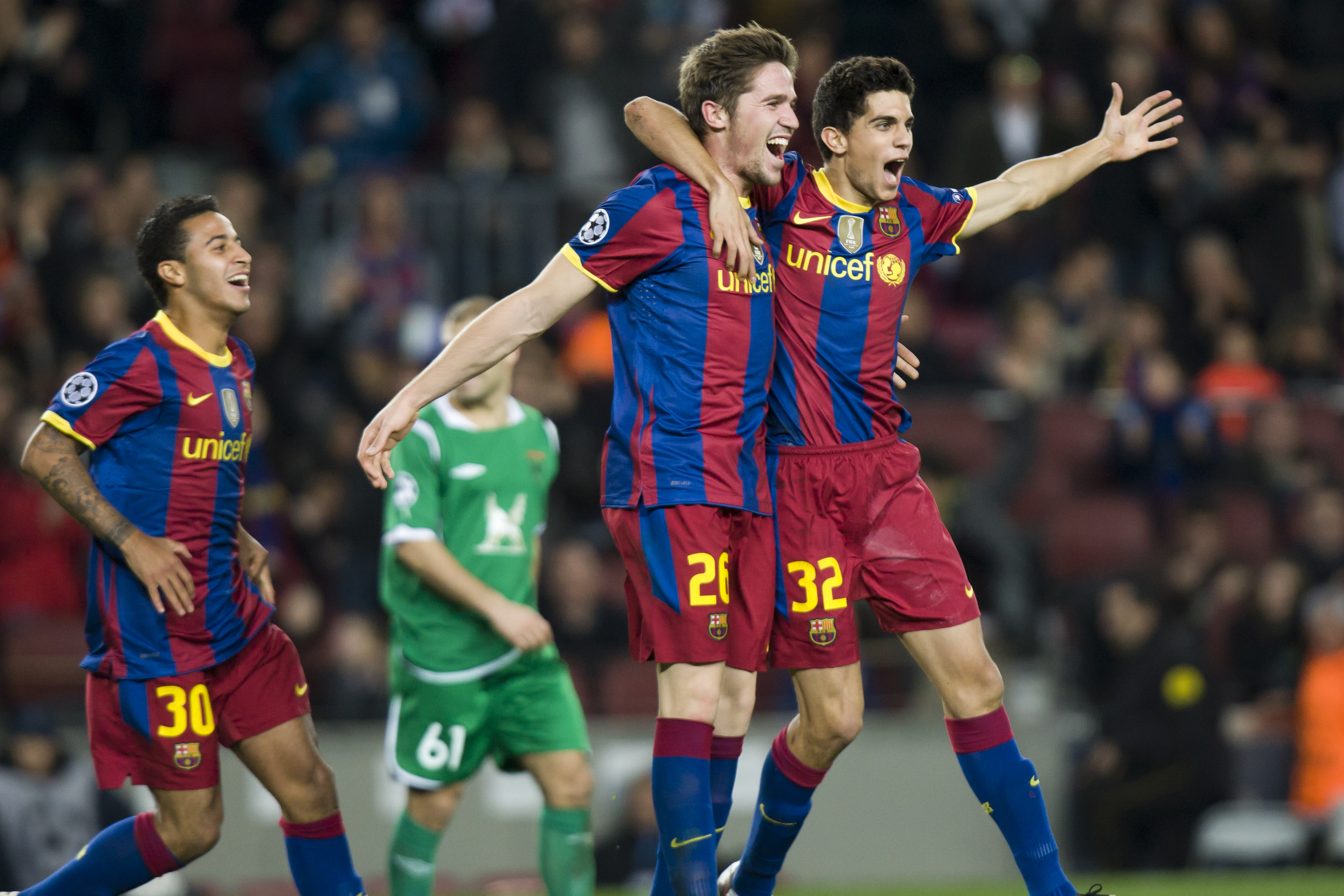 Barcelona Fc: Marc Bartra's Ten Key Facts And Figures From His Time At