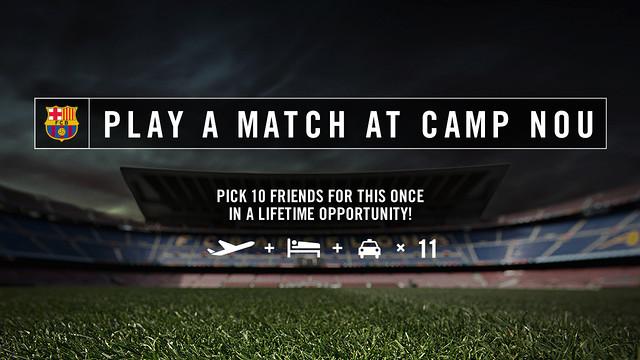 Juga al Camp Nou anglès