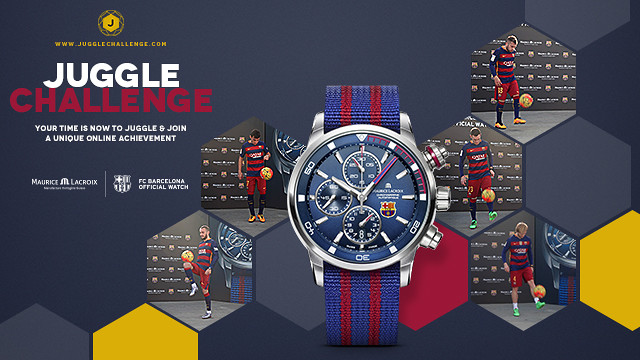 The 'Juggle Challenge' has some exclusive prizes to give away - FCB