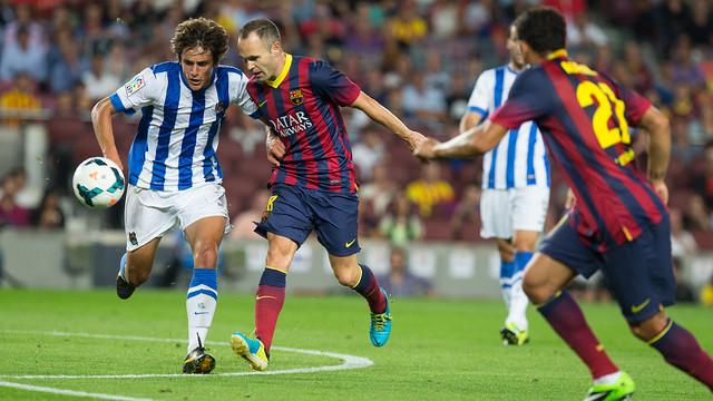 Image result for Barcelona vs Real Sociedad
